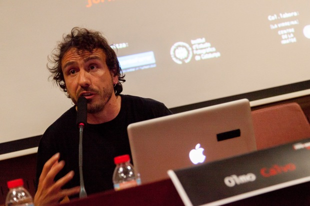 Olmo Calvo, fotoperiodista. © Joan Ribó